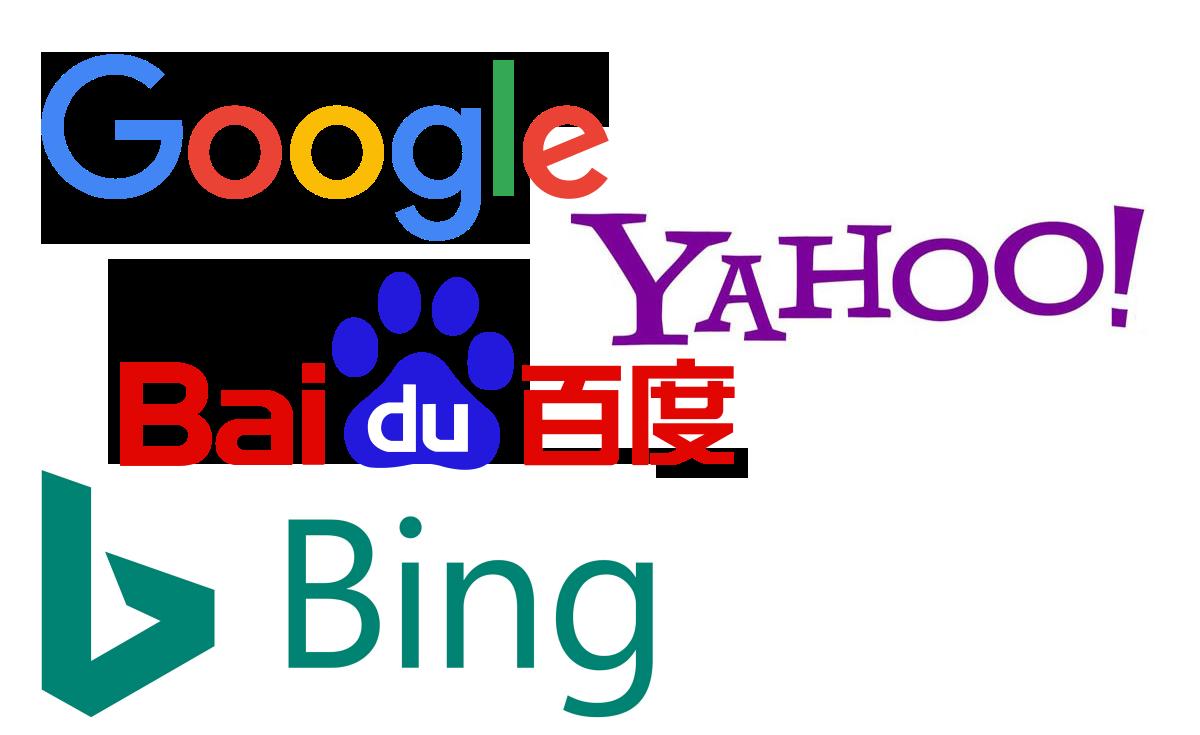 Forskellige-internationale-søgemaskiner