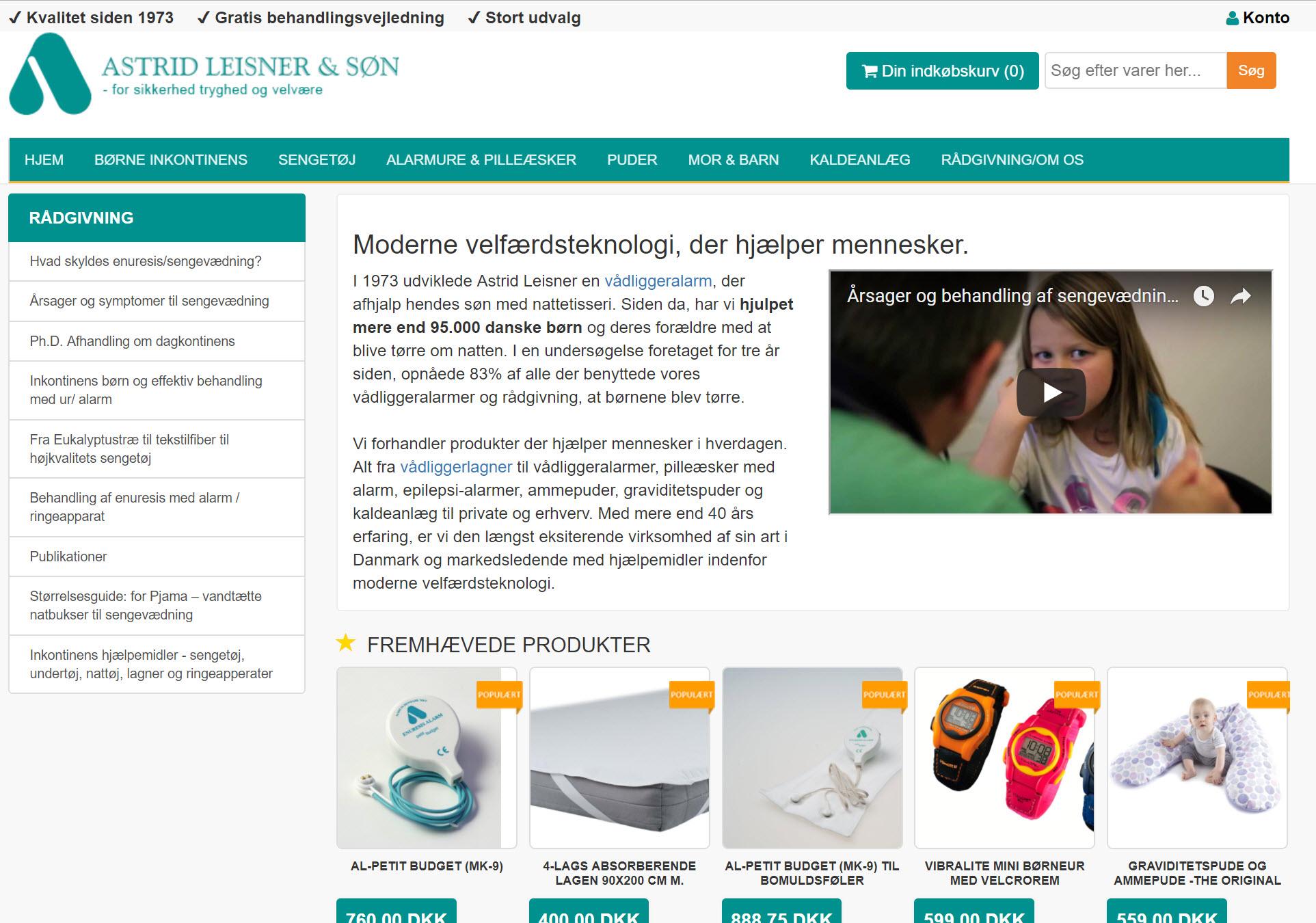 Leisner-magento-webshop-løsning