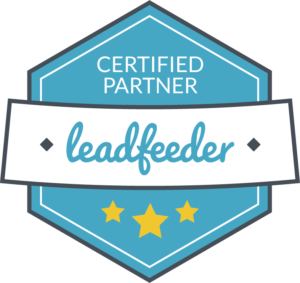 Vertified partner leadfeeder badge